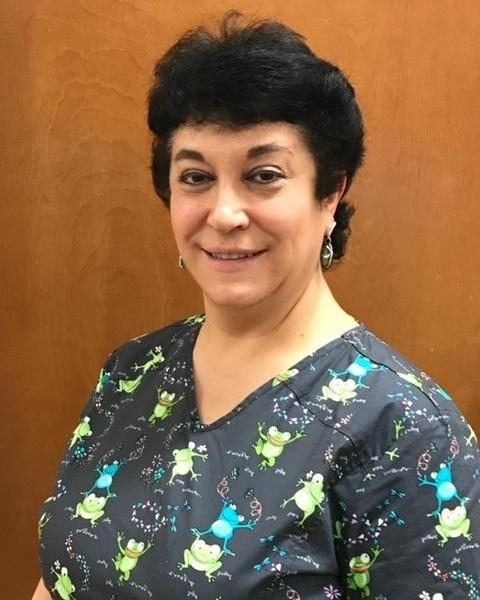 Olga Zemshman, at dental hygienist at The Dental Care Center in Van Nuys, CA